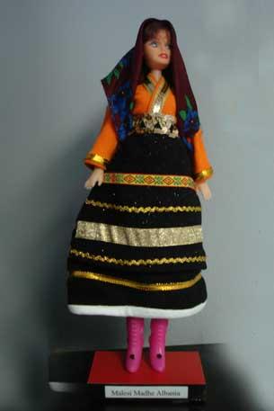 albanian national costume